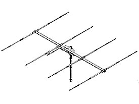 SY 27-4, 4 elements yagi (riktantenn)